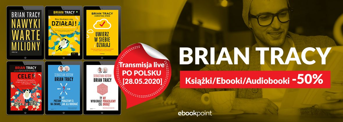 Promocja na ebooki Brian Tracy - transmisja live PO POLSKU [28.05.2020]
